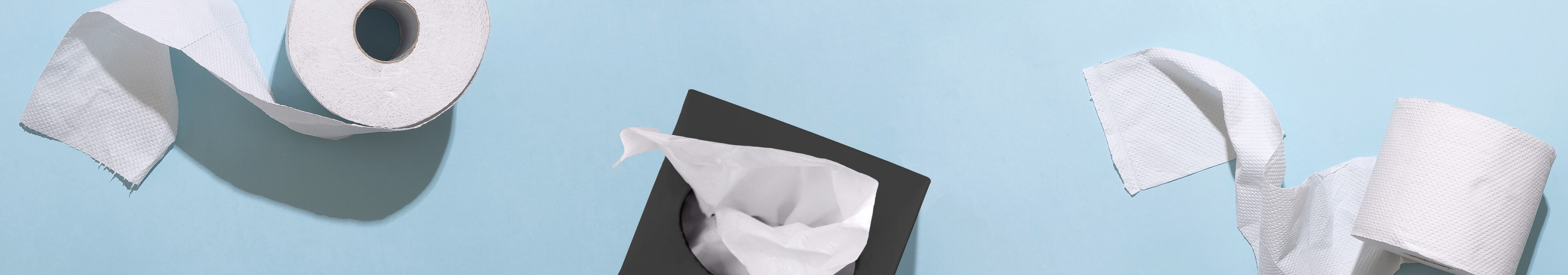 Toilet paper and tissues